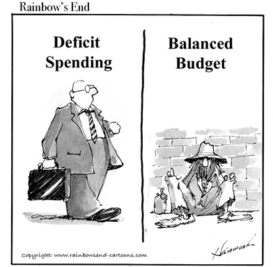 deficit spending Friday october 8, 2010, 9:35 pm deficit spending: democrats vs republicans by foster friess democrats are fond of talking about the clinton era budget surplus.